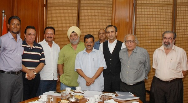 Cricket Stars meet Delhi Chief Minister