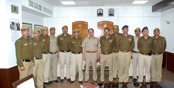 CP Delhi with Outer Distt Staff