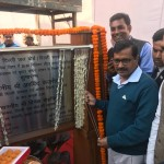 CM DELHI, lays foundation stone of 26.80 ML capacity Under Ground Reservoir (UGR)/Booster Pumping Station (BPS) at Sonia Vihar