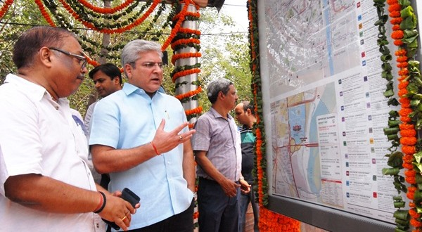 Delhi Govt launches Integrated Transit Maps at Bus Shelters