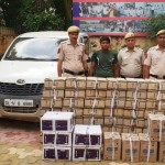 1 BOOTLEGGER ARRESTED
