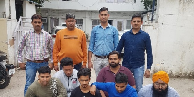 GANG INVOLVED IN ONLINE CHEATING BUSTED, 6 ARRESTED BY DELHI POLICE