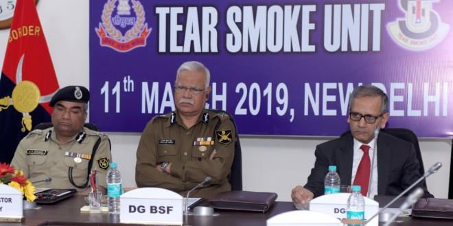 BSF ORGANISES ANNUAL GOVERNING BODY MEETING OF TEAR SMOKE UNIT