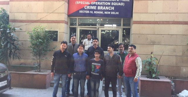INTER-STATE ILLICIT LIQUOR SUPPLIERS GANG BUSTED BY DELHI POLICE