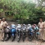 EIGHT CASES OF MOTOR VEHICLE THEFT SOLVED BY PS PAHAR GANJ
