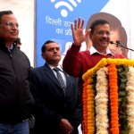 Chief Minister Arvind Kejriwal fulfils dream of a Digital Delhi, launches free Wi-Fi facility across the city