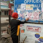 removal of posters/banners/hording etc.-under MCC-