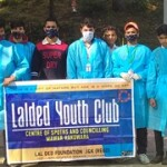 LAL DED YOUTH CLUB VISITED TO BADARKALI TEMPLE